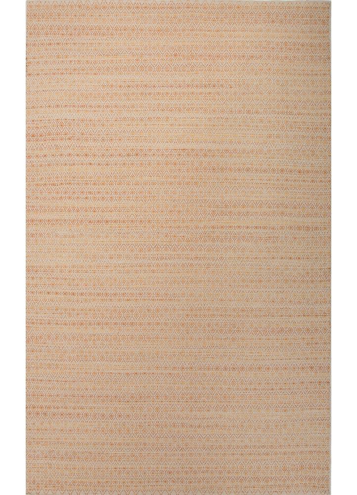 Asterlane Flat Weave Moroccan Pattern Orange Taupe Area