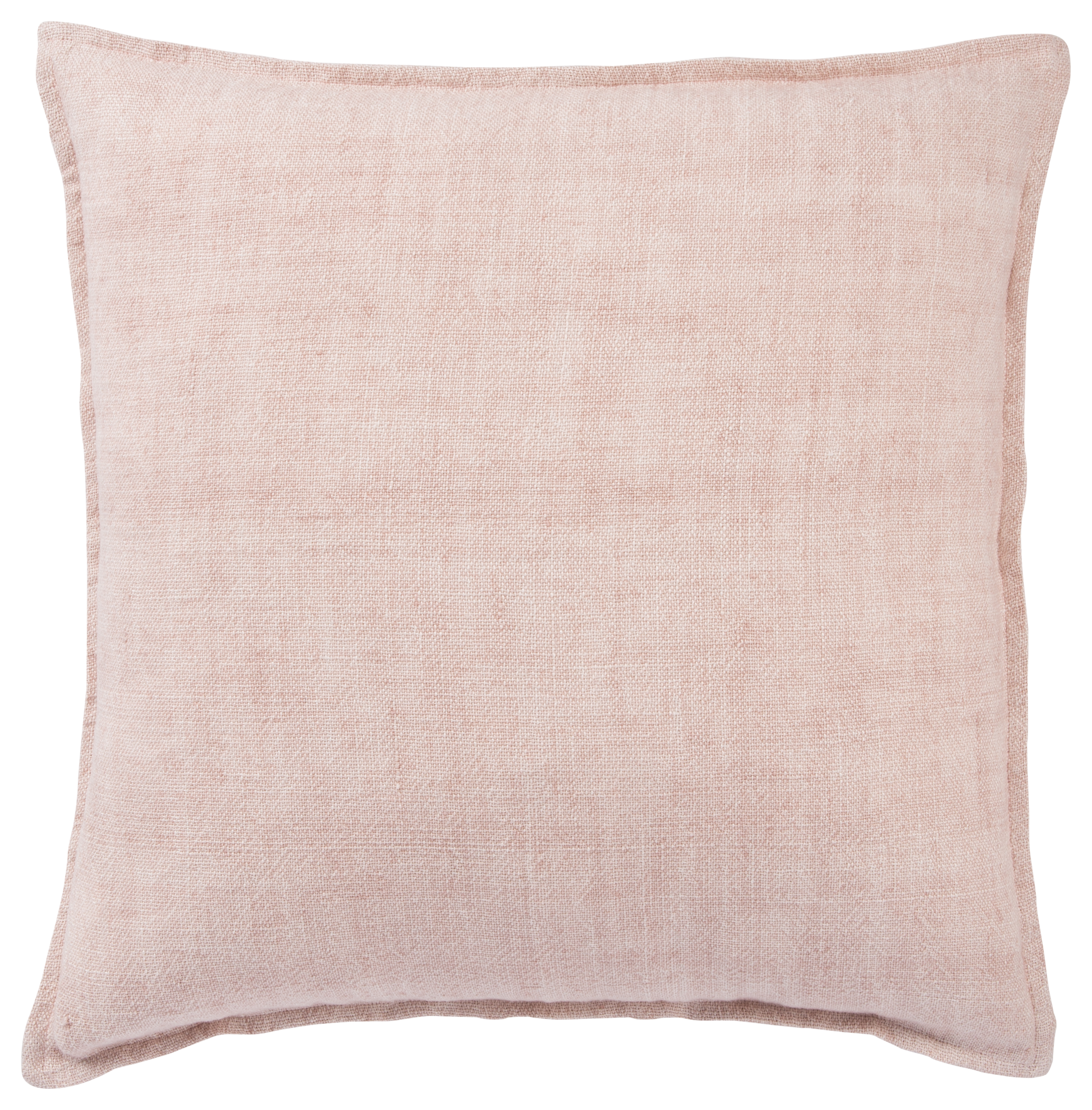 Jaipur Living Blanche Solid Light Pink Poly Throw Pillow