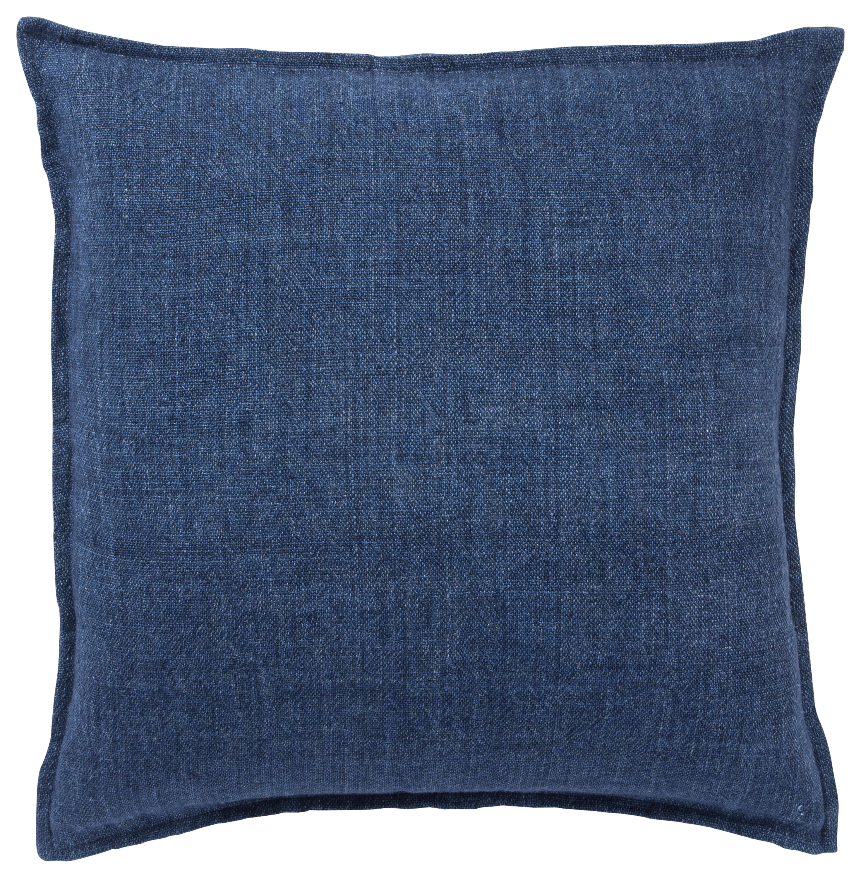 Jaipur Living Blanche Solid Blue Poly Throw Pillow