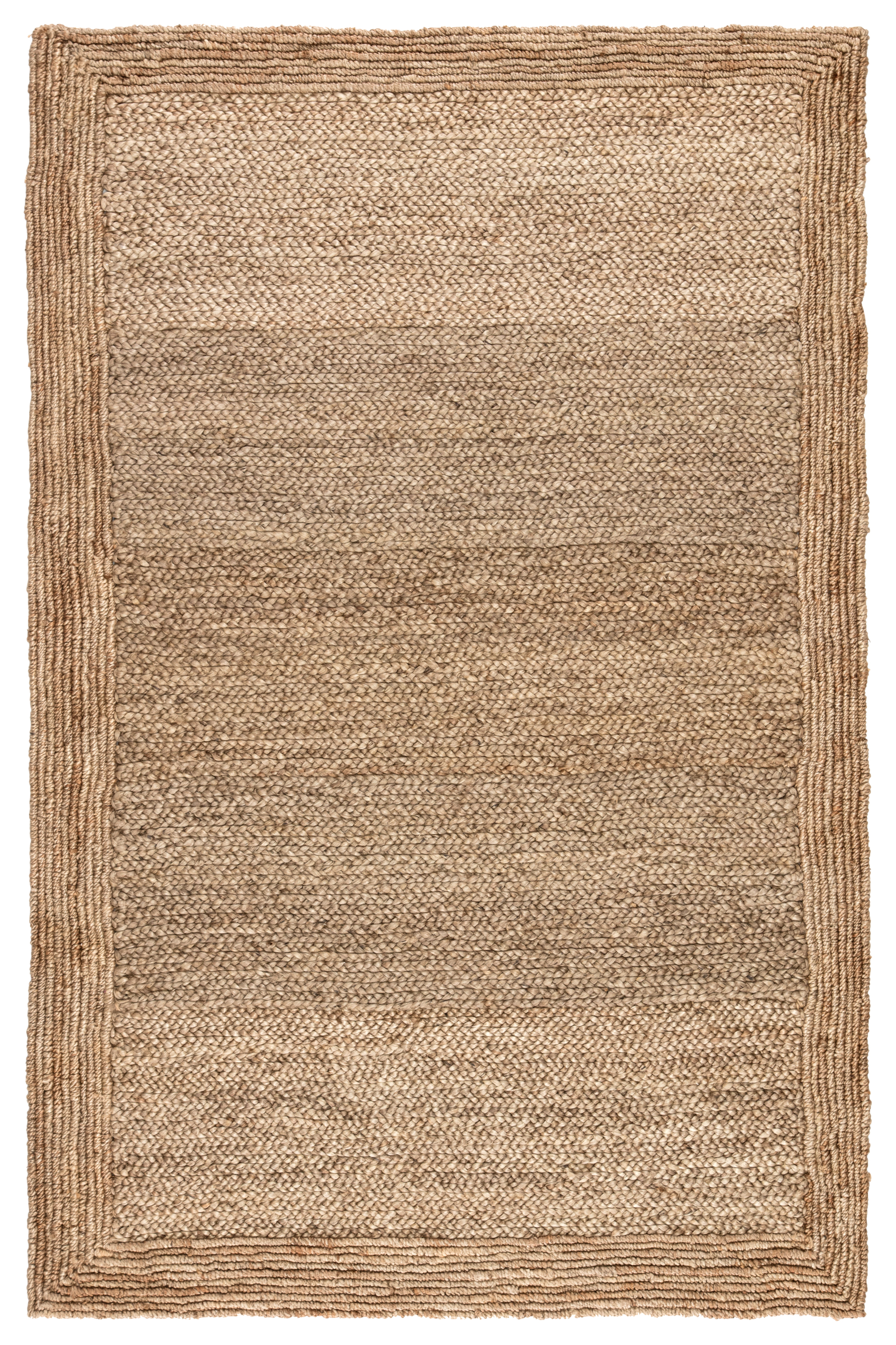Jaipur Living Aboo Natural Solid Beige Area Rug