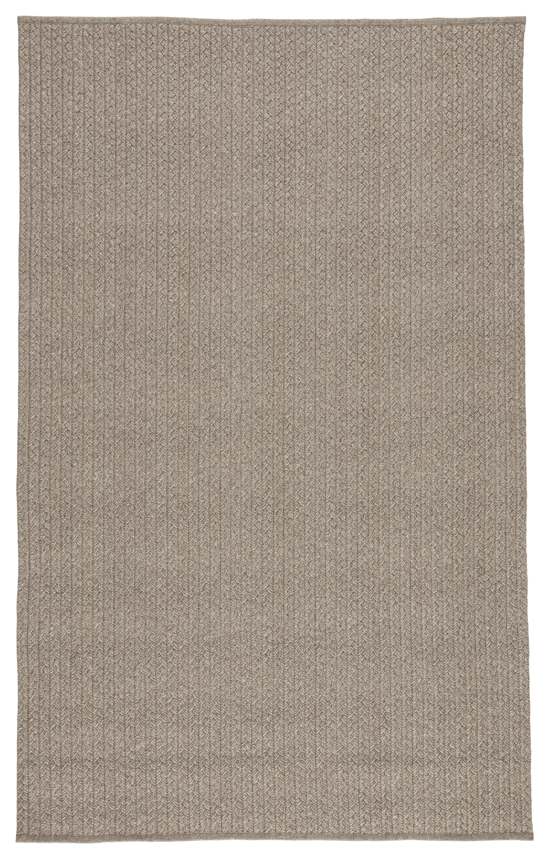 Jaipur Living Iver Indoor/ Outdoor Solid Gray Area Rug