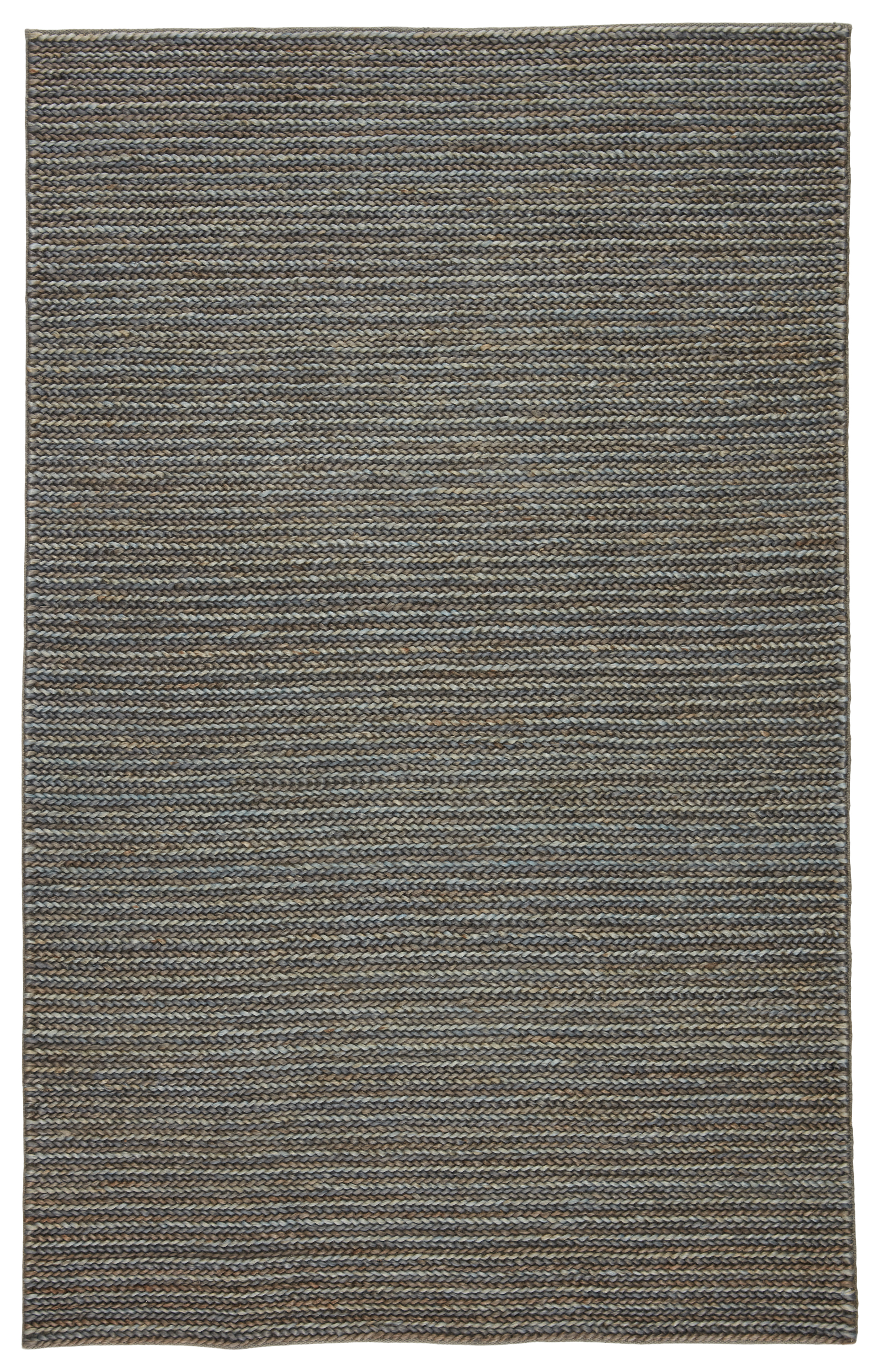 Jaipur Living Aleah Natural Solid Gray Area Rug