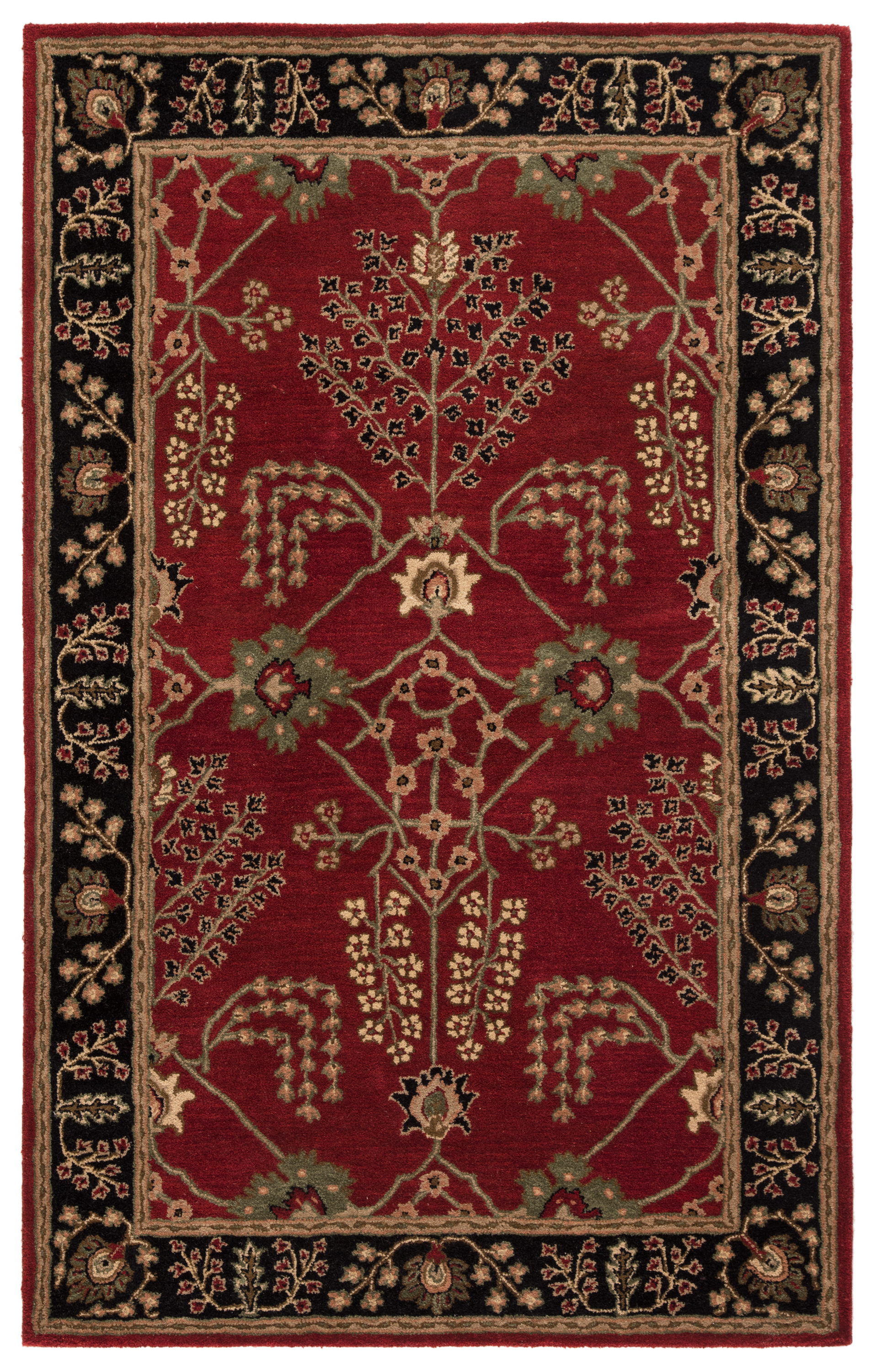 Jaipur Poeme PM111 Red Ochre