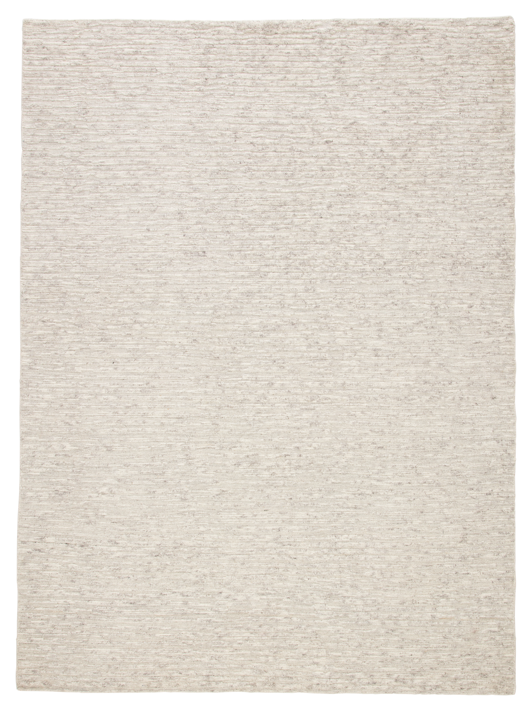 Jaipur Living Basin Hand-knotted Solid Ivory/ Gray Area Rug
